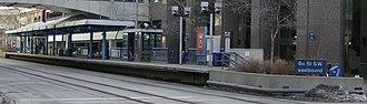 6 Street Southwest and 7 Street Southwest stations - Image: 6 Street Southwest (C Train) 1