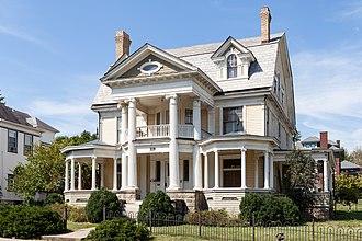 A. C. Lyons - C. E. Hutchinson House, Fairmont, 1900.