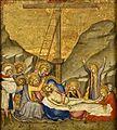 7 Andre di Bartolo Lamentation. c. 1400, National museum, Stockholm.jpg