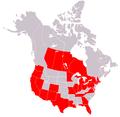 800px-Map of USA highlighting OCA Romanian Episcopate.png