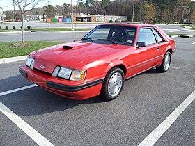Ford Mustang Svo Wikipedia