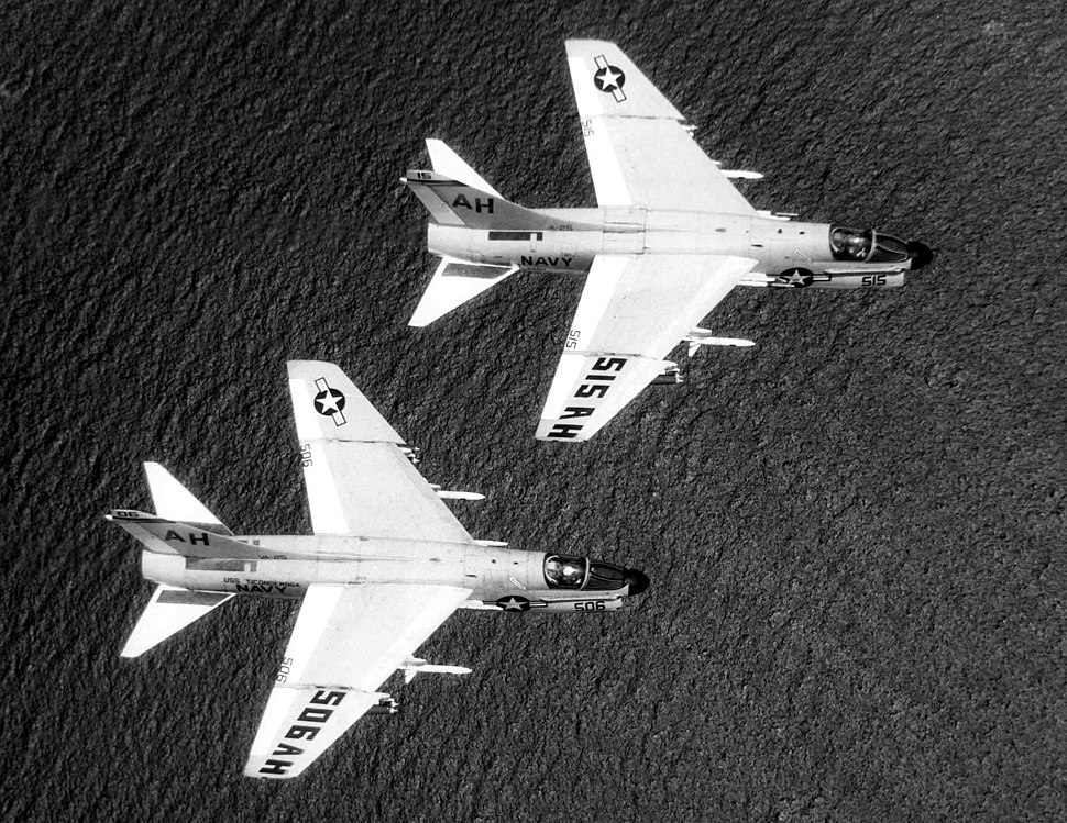 A-7Bs VA-25 during Ironhand mission 1969