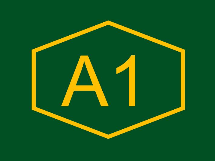 A2 highway logo