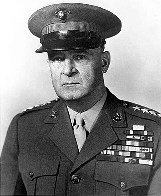 Military Secretary to the Commandant of the Marine Corps - Image: AA Vandegrift