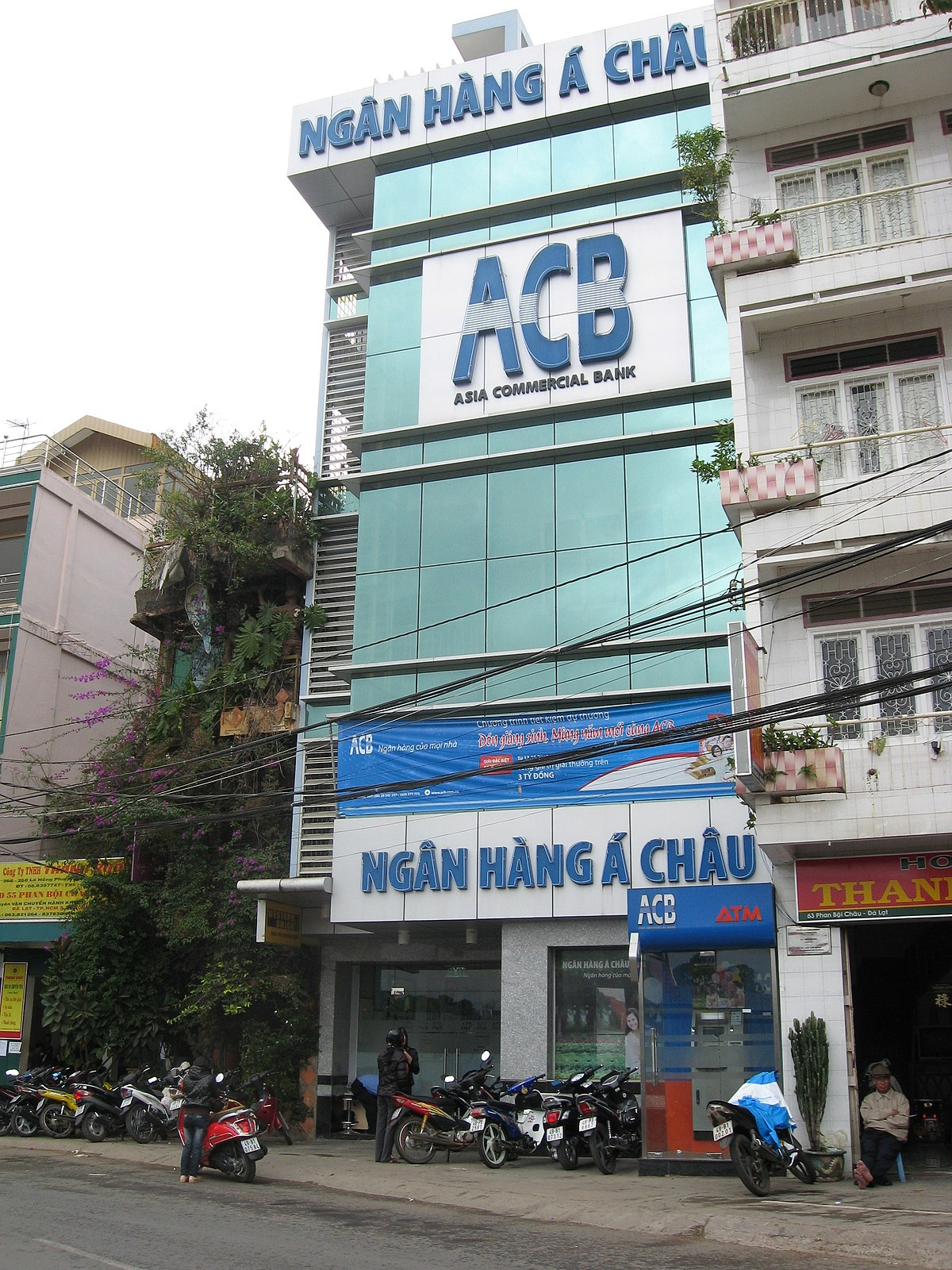 Asian commercial bank seems