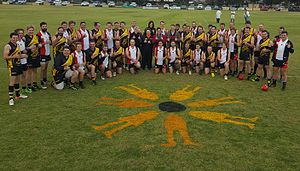 Lameroo, South Australia - Melanoma Awareness Day conducted by the Australian Melanoma Research Foundation in 2016.