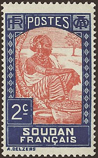 Postage stamps and postal history of French Sudan