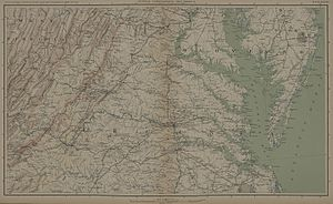 Maryland Campaign - Southern Virginia, (1861-1865).