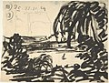A Blot-Lake with Boat, Surrounded by Trees MET DP801056.jpg