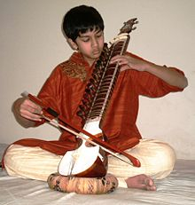 A Boy Playing Esraj.jpg