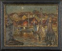 A Fishing Harbour. Study from North Norway (Anna Boberg) - Nationalmuseum - 21342.tif