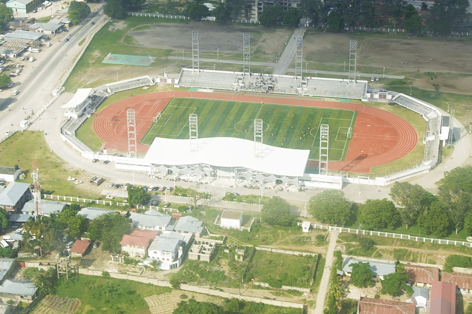 A bird%27s view of Amaan Stadium in Zanzibar