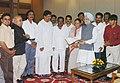 A delegation from Uttara Kannada led by Smt. Margaret Alva presenting a memorandum to the Prime Minister, Dr. Manmohan Singh, in New Delhi on August 02, 2006.jpg