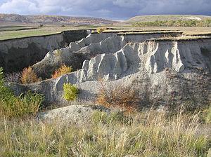 Gully - Image: A gully (Budanova Gora) 1