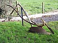 A plough at The Plough - geograph.org.uk - 336028.jpg