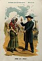 A priest tells off a woman Wellcome V0050346.jpg