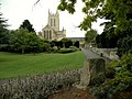 A view of the Cathedral from Abbey Gardens - geograph.org.uk - 1448605.jpg