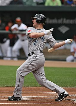 Aaron Hill follow-through
