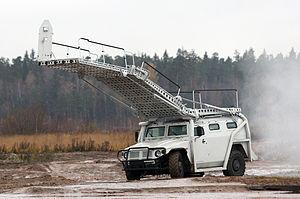 GAZ Tigr - Abaim-Abanat special police assault vehicle based on GAZ-233034 SPM-1 vehicle