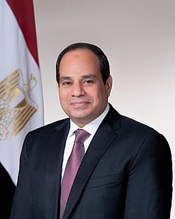 Abdel Fattah el-Sisi Sixth President of Egypt