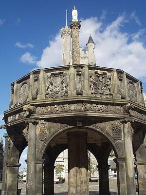 History of Aberdeen - Aberdeen Market Cross