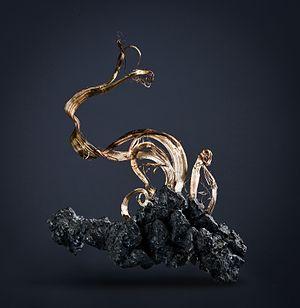 Boumalne Dades - Image: Acanthite Silver imiter 4