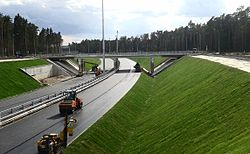 Access road to Zhukovsky 18 July 2013.jpg