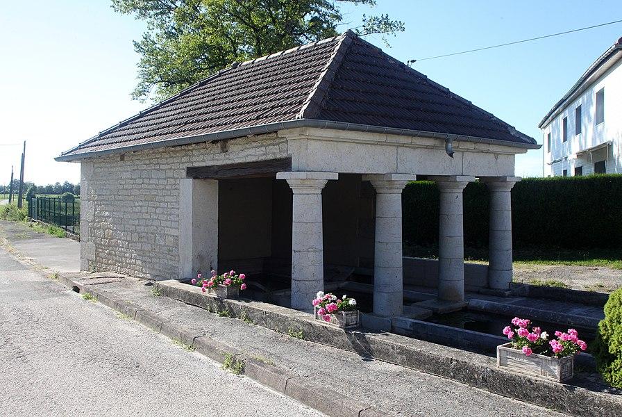Lavoir à Adam-les-Vercel (Doubs).