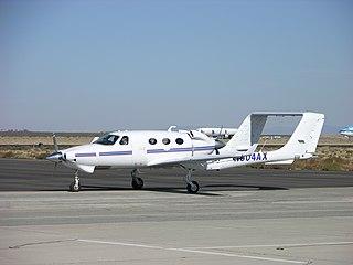 Adam A500 2002 general aviation aircraft by Adam Aircraft Industries