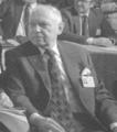 Adam Schaff - Kongres Intelektualistów w Obronie Pokojowej Przyszłości Świata w Hotelu Victoria w Warszawie (1986-01-16).png