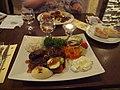 Adana köfte at restaurant Halikarnas (bright).jpg