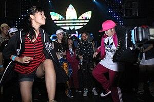 Adidas Originals - Image: Adidas Breathe & Stop Tour Bangkok 2