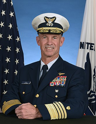 Vice Commandant of the United States Coast Guard - Image: Adm. Charles W. Ray