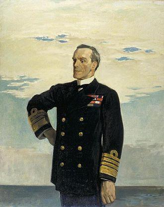 Doveton Sturdee - Frederick Charles Doveton Sturdee, 1918, by Glyn Philpot