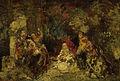 Adolphe Joseph Thomas Monticelli - Vrouwen in een bos.jpg