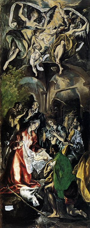 National Museum of Art of Romania - Adoration of the Shepherds, El Greco, 1600