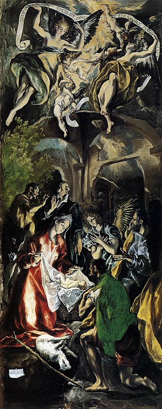 National Museum of Art of Romania - The Adoration of the Shepherds, El Greco, 1600