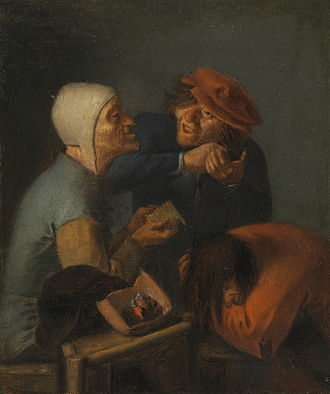 Treatment of human head lice - The delousing by Adriaen Brouwer