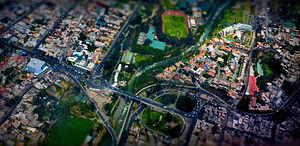 Aerial View, Arequipa, La Marina