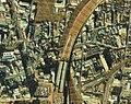 Aerial photo of the X-shaped Bridge in 1984.jpg