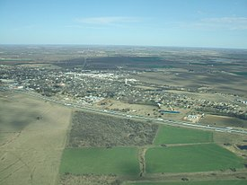 Aerial view of town of West, TX looking northeast.jpg