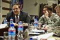Afghan Minister of Defense meets with NATO Training Mission - Afghanistan commander (4727306952).jpg