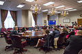 Agriculture Secretary Tom Vilsack speaks with and answers questions from farm broadcasters at the U.S. Department of Agriculture.jpg