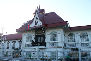 Ancestral houses of the Philippines - The ancestral house of Emilio Aguinaldo, declared a National Shrine in 1964