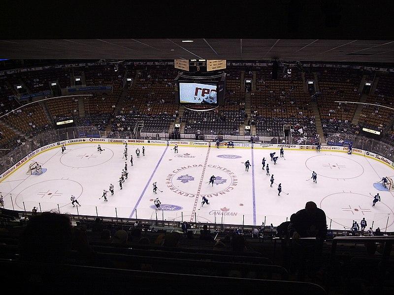 Esportes em Toronto no inverno