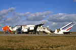 Airbus A340-211 (F-GNIA) destroyed in fire.jpg