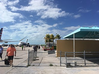 Exuma International Airport - Delta Air Lines 717 at the airport in 2019