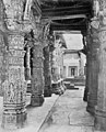 Aisle in a Jain temple, mount Abu, Rajasthan, retouched.jpg