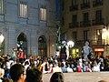 Ajuntament - Arribada de la xambanga de gegants P1160579.JPG