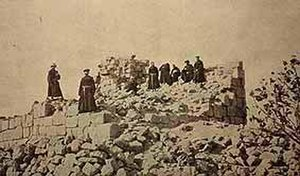 Beitin - Ruins of al-Burj, 1935